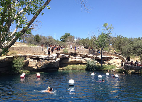 Blue Hole at New Mexico