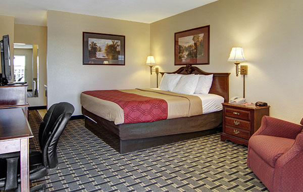 Econo Lodge Inn & Suites 1 King Room - No Smoking at New Mexico